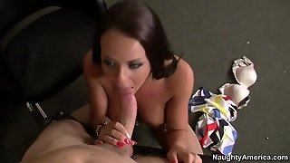 Rahyndee James & Levi Cash In Naughty Office