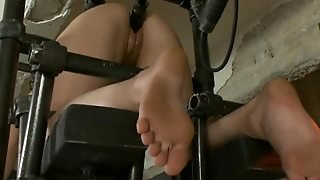 Blonde Cutie Gets Her First Bdsm Orgasm
