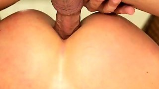 Cutie Cassandra Rough Anal Sex In The Bathroom And Facialed
