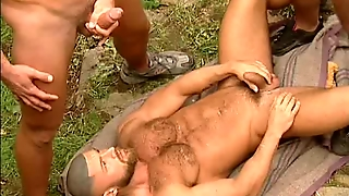Fat Cock Ted Colunga In A Hot 3Some