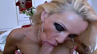 German Mom Help Stepson With The Best Blowjob To Lost Virgin