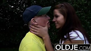 Old Young Hardcore Anal For Beautiful Teen Swallows