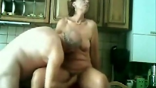 Wife Licked And Fingered In The Kitchen