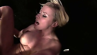 Busty Blonde Pornstars Has A Fetish For Anal Creampies