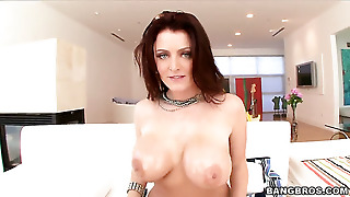Redhead Baby Doll Sophie Dee With Big Ass Wants Mans Fuck Stick To Fuck Her Mouth