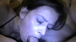 Milf Cock Sucking And Cum Swallow