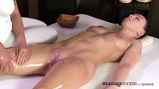 Ass, Oil And Sex, Young, Sensual, Pussy, Czech, Tits, Massage, Fingering, Orgasm, Teen