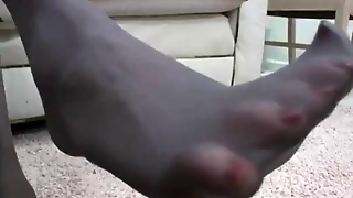 Teens Pantyhose Foot Fetish