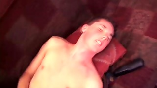 Cocksucking Skaterboy Jizzed On After Anal