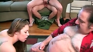 Ron Jeremy Fucks Young Chicks At Orgy Porn