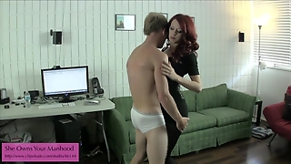 Miss Crash Pantyhose Ballbusting