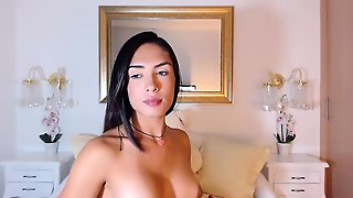 Big Tits Shemale Sucks Black Cock