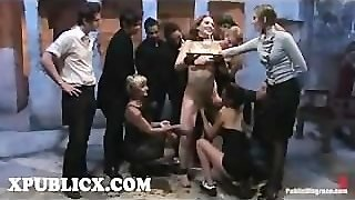 Bdsm, Whip, Fondle, Flog, Toy, Fetish, Vibrator, Orgy, Bondage, Disgrace, Submission