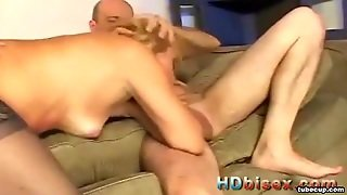 Bisexual Threesome Anal Sex