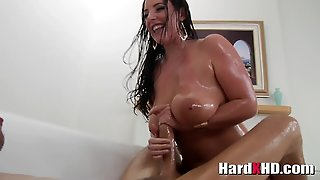 Super Hot Busty And Oiled Angela White