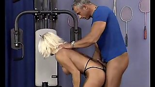Strong Muscular Mother Loves Cock