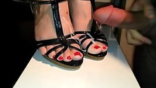 Cum On Heels & Feet - Heelslovers@pornhub