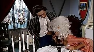 17Th Century Porno (No Not Really) With A Slut Getting Double Penetrated...