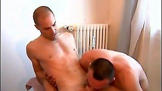 2 Hunk French Guys Having Hot Sex For Their 1Srt Porn Video !