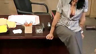 Milf Zoey Holloway Banged In Office