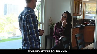 Mybabysittersclub- Rebel Teen Babysitter Fucked To Keep Job