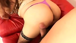 Lingerie And Deep Asian Anal Fuck