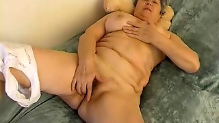 Granny And Old Granny Masturbating Together