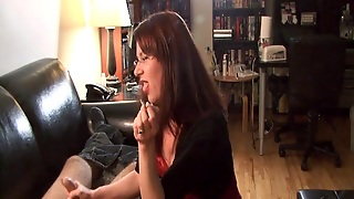 Smoking Milf, Hd Hand Job, Glasses Smoking, Dirty Milf, Handjob Glasses, Handjob Smoking, Milf With Glasses, Mil F