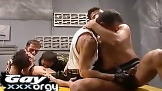 Army Boy Orgy