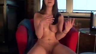 Young Babysitter Nervously Getting Naked For The First Time On Camera