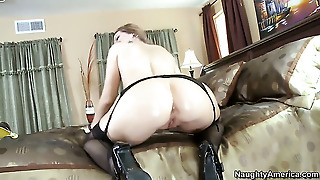 Blonde Whore With Bubbly Bottom Feels Great With Bill Baileys Throbber Deep In Her Cunt
