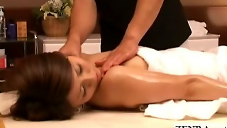 Pale Nude Japanese Milf Massaged Into Orgasmic Bliss
