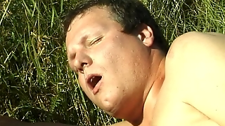 Hot Cum On Hairy Pussy