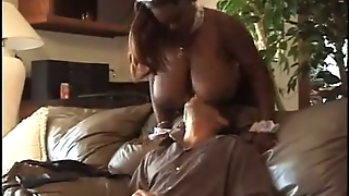 Ebony Maid Fucking With Boss