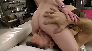 Hot Candee Licious Is Obsessed With Rocco's Cock And She Is Not Greedy