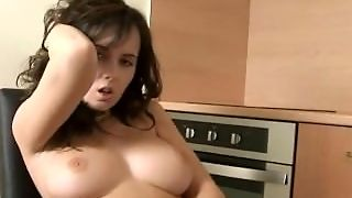 Big Boobs Have Solo Masturbation
