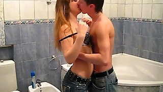18Videoz - Angela - Washing Clean And Fucking Dirty
