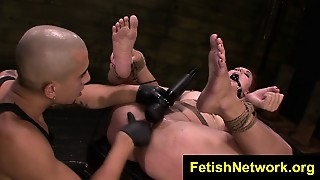Fetishnetwork Rose Red Tyrell Rough Bdsm