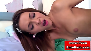 Petite Teen Amateur Doggystyle Fucked