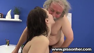 Piss Drinking Sluts And Watersports Lovers 125