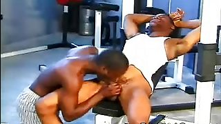 Hot Black Gays In The Gym