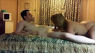 Two Horny Women On His Bed