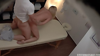 Czech Massage Ends With Hot Sex