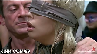 Hot Sexy Babe Bdsm In Public
