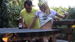 Teenage Homemade Porn With Blond Stretched For Piston