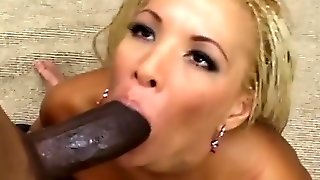 Female Makes Black Boy Cum On Her Face After Sex