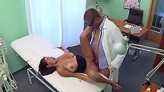 Fake Doctor Gets Fucked Really Hard