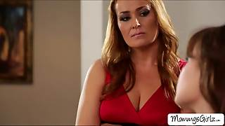 Alison And Milf Elexis Appreciates 69 Pussy Licking
