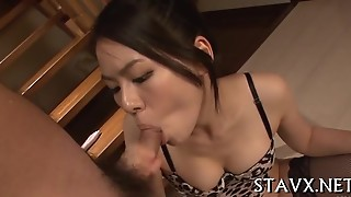 Wet Asian Pussy Sucking
