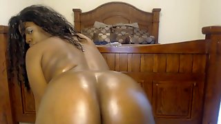 Webcam Big Ass Oiled